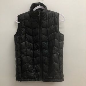 Marmot 800 Fill Black Down Puffer Vest
